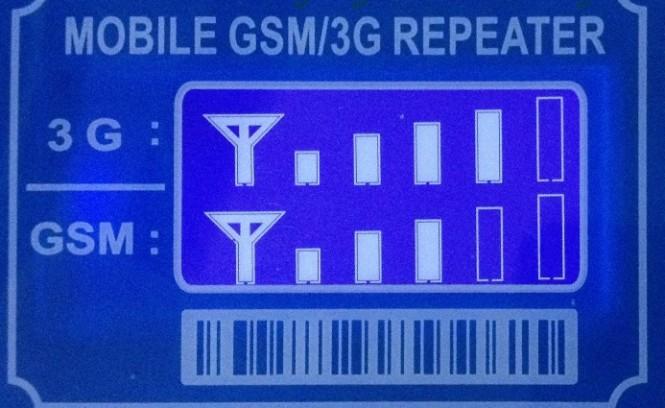 Пока прибор работает, на его дисплее постоянно отображаются индикаторы качества GSM и 3G связи