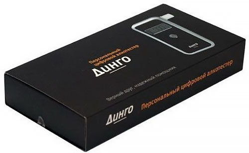 Фирменная упаковочная коробка алкотестера