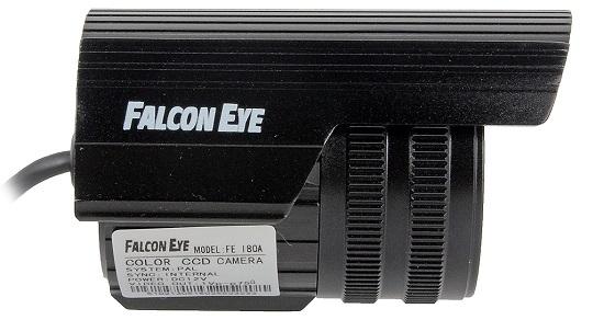 Видеокамера Falcon Eye FE-I80A/15M: вид сбоку (нажмите на фото для увеличения)