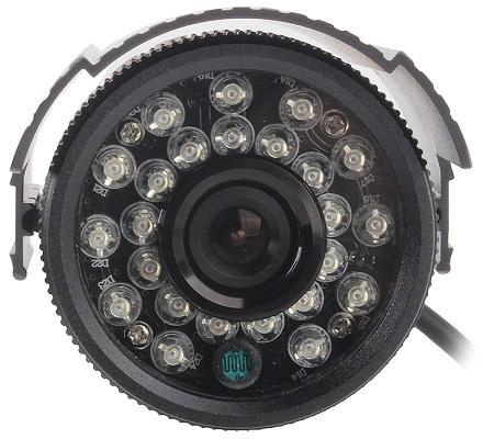 Большая группа ИК светодиодов обеспечивает данной камере достаточно мощную ночную подсветку (нажмите на фото для увеличения)