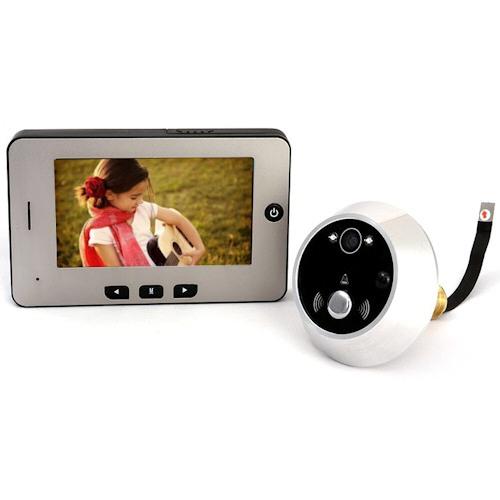 """Видеоглазок """"SITITEK Simple II"""" с ИК-подсветкой и датчиком движения"""
