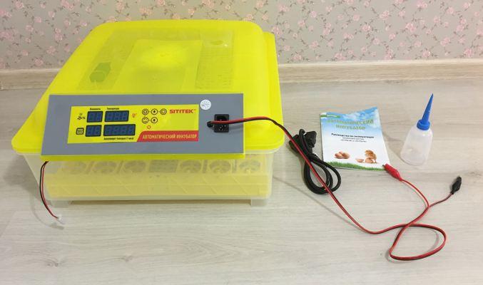 Комплект поставки инкубатора