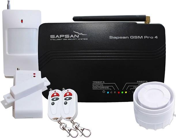 Кроме датчиков в комплект поставки входят два пульта ДУ и проводная сирена