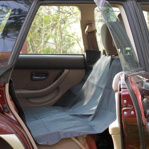 """Автогамак для перевозки собак в машине """"OSSO Car 145x150 Grey"""" (накидка-чехол)"""