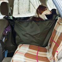 OSSO Car Premium Автогамак для перевозки собак в машине 135x50 Grey на 1/3 сидения