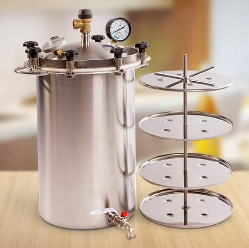 Автоклав викинг для домашнего консервирования купить недорого самогонный аппарат вип
