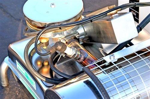 Все важные элементы аппарата изготовлены из прочной и долговечной нержавеющей стали (нажмите, чтобы увеличить)