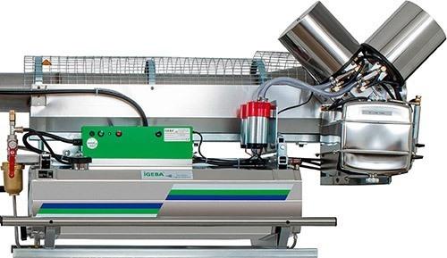 Все важные элементы аппарата сделаны из прочной и долговечной нержавеющей стали (нажмите, чтобы увеличить)