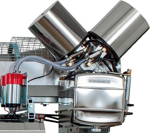 Бензобак, корпус насоса и другие ключевые агрегаты устройства сделаны из крепкой и долговечной