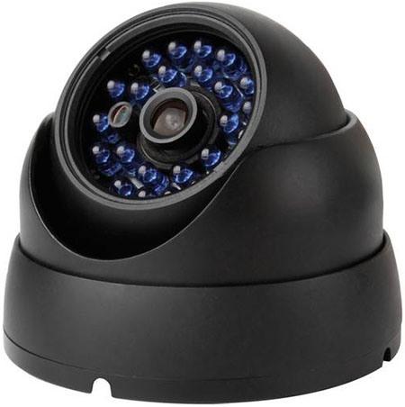 """Камеры из комплекта """"Zmodo Офис"""" надежно защищены от непогоды влагонепроницаемым металлическим корпусом"""
