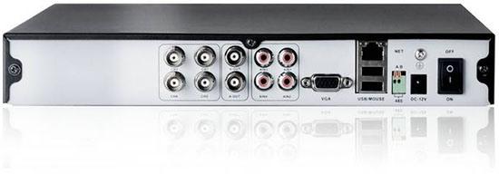 """Видеорегистратор комплекта """"Zmodo Офис"""" снабжен богатыми возможностями для подключения камер, мониторов и других внешних устройств"""