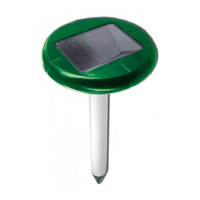 """""""Weitech WK-0677"""" - ультразвуковой отпугиватель кротов на солнечной батареи"""