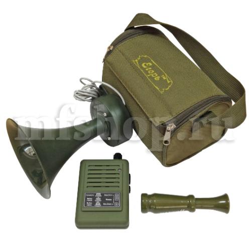 """Электронный манок """"Егерь-54ДМ"""" + динамик """"TK-9 Lockvogel"""" (на гуся, утку и т.д.)"""
