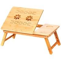 """Бамбуковый столик для ноутбука """"SITITEK Bamboo 2"""" с активной системой охлаждения (2 вентил"""