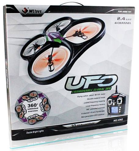 "���������������� ������������ ""WLToys V262"" Cyclone UFO Drones 2.4G ��������� � ������������ ��������"