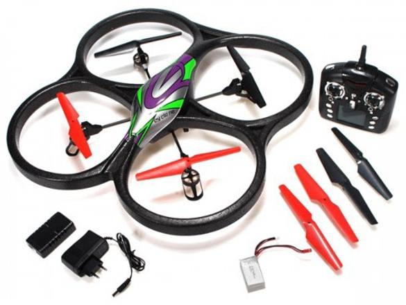 "������������ ����������������� ������������� ""WLToys V262"" Cyclone UFO Drones 2.4G"