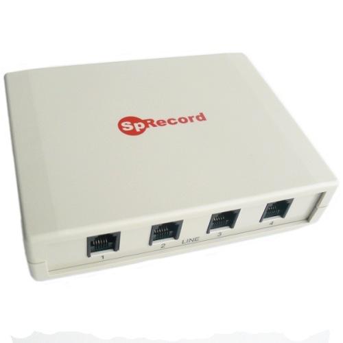 Система записи и регистрации телефонных разговоров SpRecord AT4 (адаптер + программа)