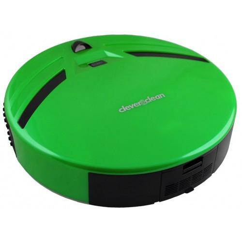 """Робот-пылесос Clever&Clean Z10A"""" (зеленый)"""