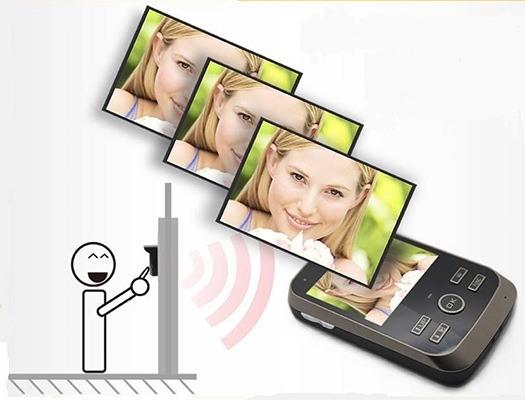 Функция фотосъемки позволит просмотреть, кто и когда Вас навещал