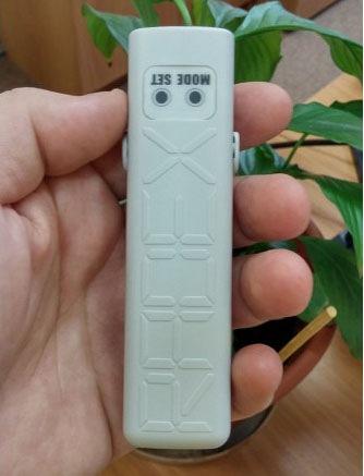 Дозиметр RADEX ONE отличается компактностью и малым весом