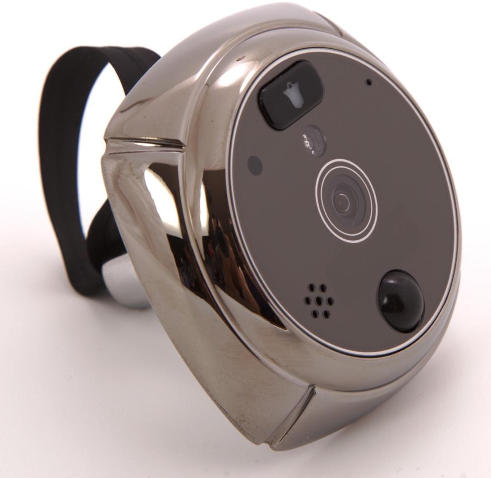 """Функциональные блоки и элементы управления видеоглазка """"SITITEK GSM"""": 1 - ЖК-экран, 2 - отсек для аккумулятора и SIM-карты, 3 - кнопка включения экрана, 4 - микрофон, 5 - слот для карты microSD, 6 - кнопка питания, 7 - кнопка перезагрузки, 8 - разъем microUSB, 9 - кнопка вызова"""