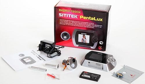 """Видеоглазок SITITEK """"PentaLux"""" отличается богатой комплектацией (нажмите для приближения)"""