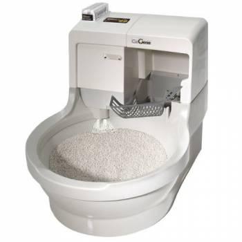 Автоматический самоочищающийся туалет для кошек и мелких пород собак CatGenie 120