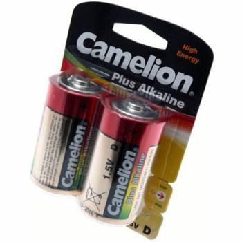 Упаковка батареек типа D Camelion LR20 (2 шт.)