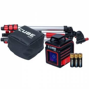 Самовыравнивающийся лазерный нивелир-уровень ADA Cube 360 Professional Edition