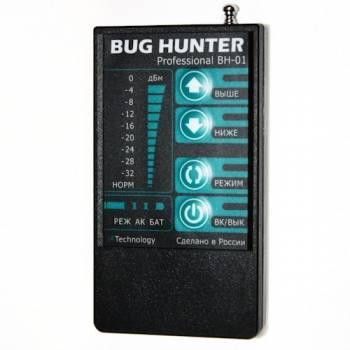Детектор-сканер жучков «BugHunter Professional BH-01»