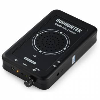 """Подавитель микрофонов, подслушивающих устройств и диктофонов """"BugHunter DAudio bda-2 Voices"""" с 5 УЗ-излучателями и акустическим глушителем"""