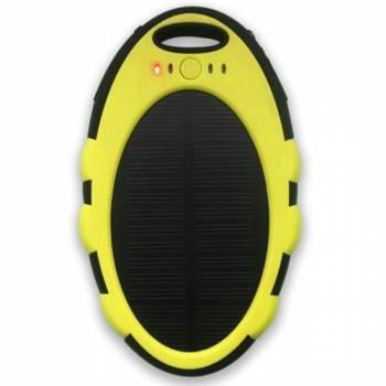 Портативный солнечный аккумулятор E-Power PB4000Y (желтый)
