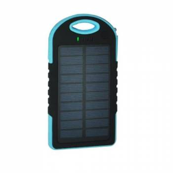 Портативный солнечный аккумулятор E-Power PB5000B (голубой)