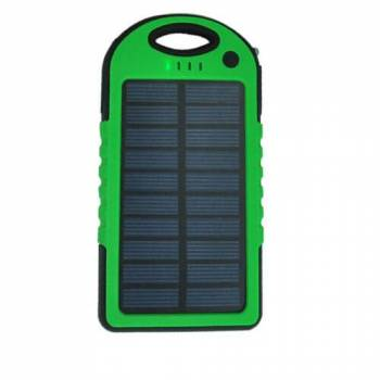Портативный солнечный аккумулятор E-Power PB5000G (зеленый)