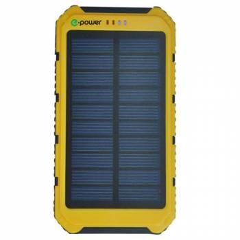 Портативный солнечный аккумулятор E-Power PB8000Y (желтый)