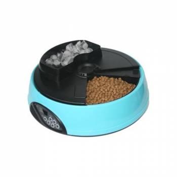 Автокормушка для кошек и собак Feed-Ex PF1 Blue с ЖК дисплеем и емкостью для льда