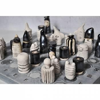 Шахматы Контакт из шамотной глины