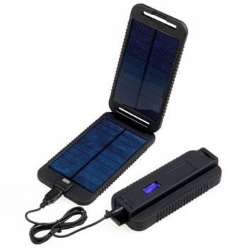 Универсальное зарядное устройство на солнечной батарее PowerTraveller PowerMonkey Extreme Black