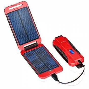 """Универсальное зарядное устройство на солнечной батарее """"PowerTraveller PowerMonkey Extreme"""" Red"""