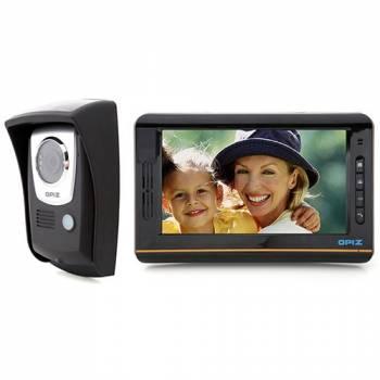 Беспроводной цветной видеодомофон Переносной REC Sensor