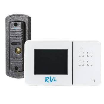 Видеодомофон RVi-VD1 mini + Вызывная панель RVi-305 (комплект)