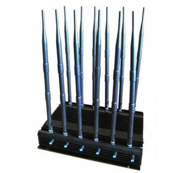 12-канальный подавитель сотовых телефонов СТРАЖ X12 ПРО (CDMA , GSM, 3G, 4G (LTE+WIMAX), GPS, Wi-Fi, VHF, UHF и т.д) Monster 12CH