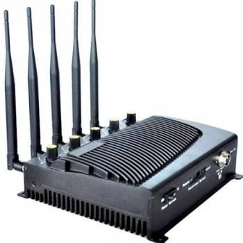 Стационарный подавитель сотовых телефонов CDMA, GSM, 3G, 4G СТРАЖ Х5 ПРО (Black Hunter 80-4G)