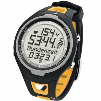 Пульсометр - часы Sigma PC 15.11 желтый