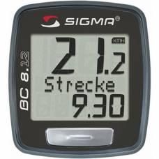 Велокомпьютер Sigma Sport BC 8.12 проводной (SIG_08120)