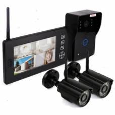 "Видеодомофон ""Skynet VD-802"" с двумя камерами"