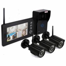 "Видеодомофон ""Skynet VD-803"" с тремя камерами"