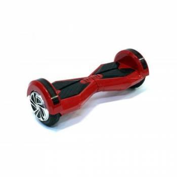 Гироскутер Smart Balance Wheel Music + LED с колесами 8 дюймов (красный) (полная комплектация)
