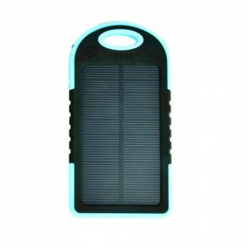 Зарядное устройство на солнечных батареях Sun-Battery SC-10 голубое
