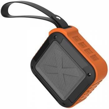 Колонка Bluetooth Trendwoo Rockman S, оранжевая